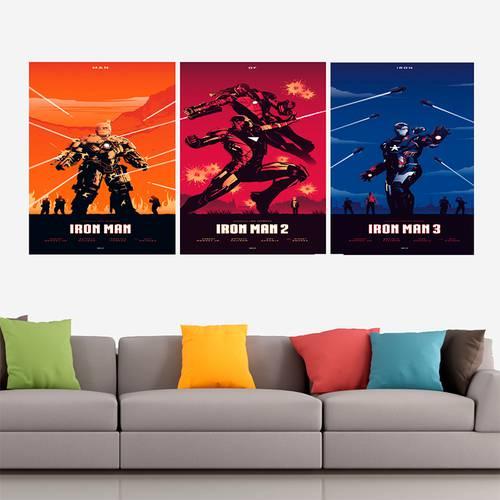 Cuadro Trilogía Iron Man