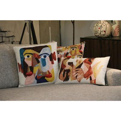 Cojín Artistic Faces 45x45cm