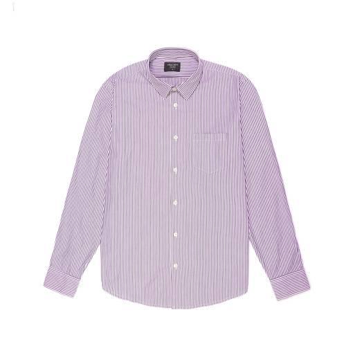 Camisa Estampada Rayas - Morado