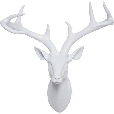 Objeto decorativo Cabeza venado blanco