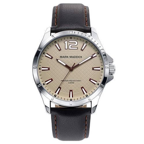 Reloj negro-plateado 1-45