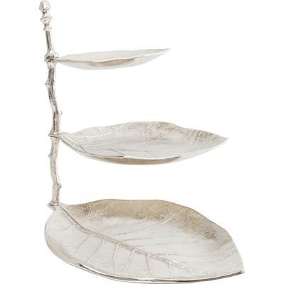 Escalera decorativa Leaf plata