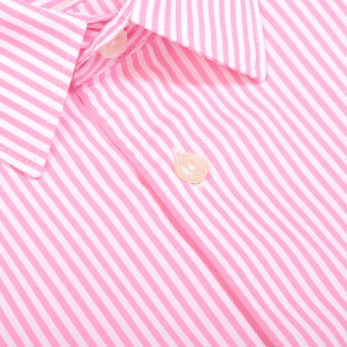 Camisa Manga Larga Thompson Color Siete para Hombre - Rosado