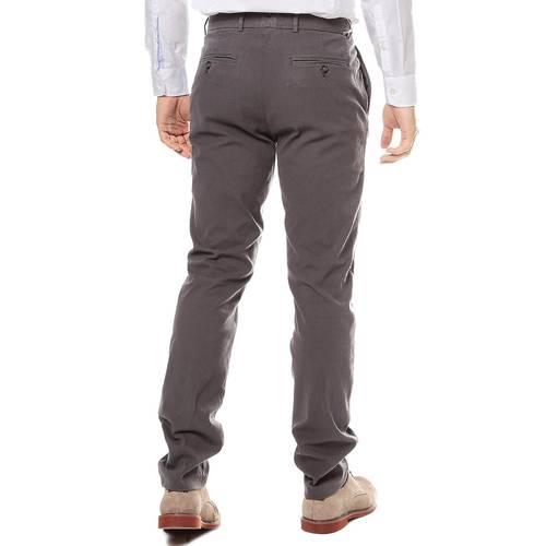 Pantalon Color Siete Para Hombre  - Gris