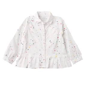 Camisa manga larga para niña