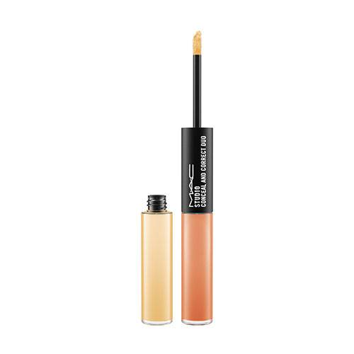 Studio Conceal And Correct Duo Mtly03 Rich Yellow / Burnt Coral - MAC