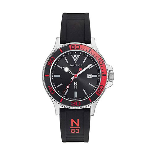 Reloj N83 Negro - Plateado