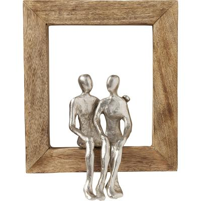 Objeto decorativo Frame Loving Couple