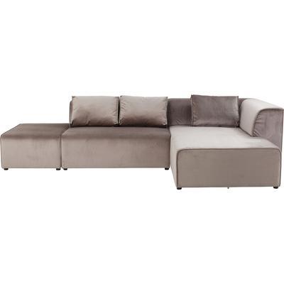 Sofá Infinity Velvet topo dcha
