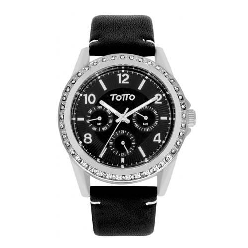 Reloj análogo negro-negro 14-1