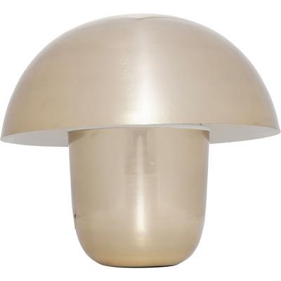 Lámpara mesa Mushroom oro peq.