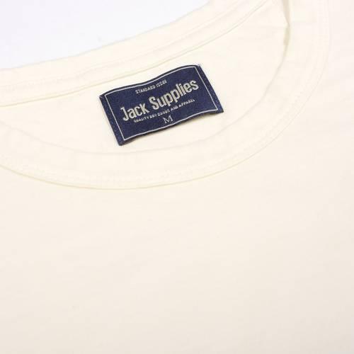 Camiseta Jack Supplies Para Hombre - Blanco