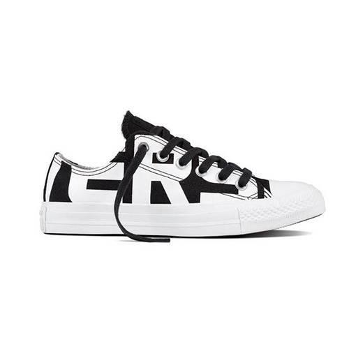 Zapatos Chuck Taylor All Star Black-White-White