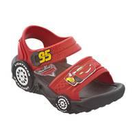 Sandalias Cars Roja