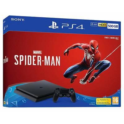 Consola PS4 Slim 500GB + Juego Spiderman