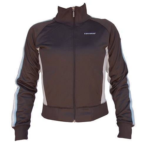 Chaqueta Track Jacket Marrón Blanco OWN