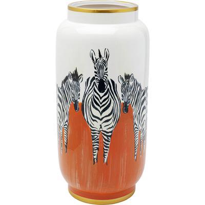 Vasija Zebras naranja 39cm