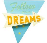 Objeto luminoso Follow your Dreams