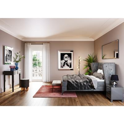 Banco Smart Dolce gris claro 90x40cm