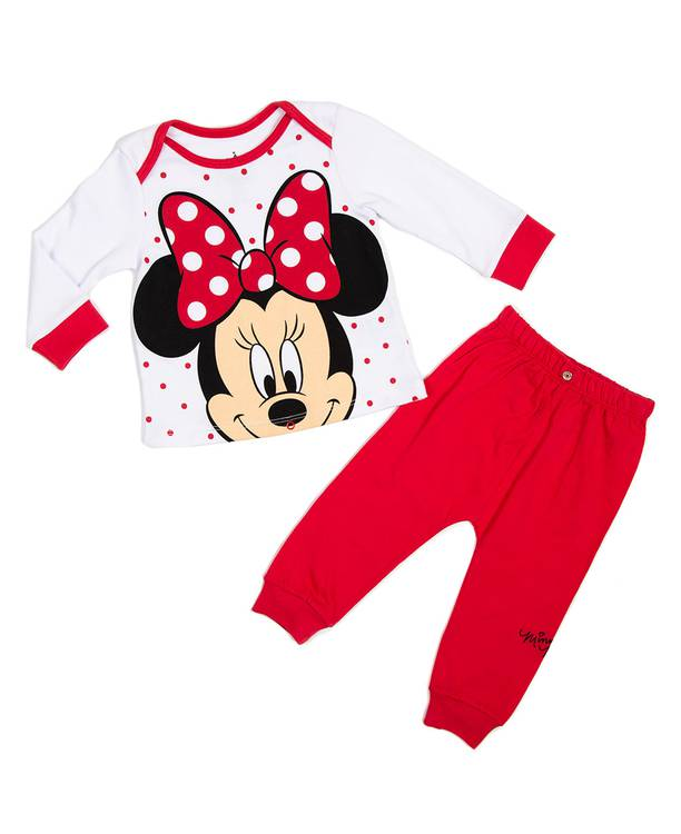 Pijama Ml/Pl Bebita Minnie