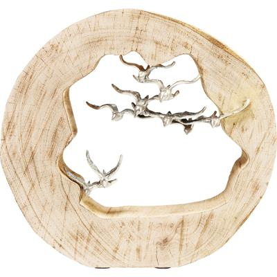Objeto decorativo Birds In Log