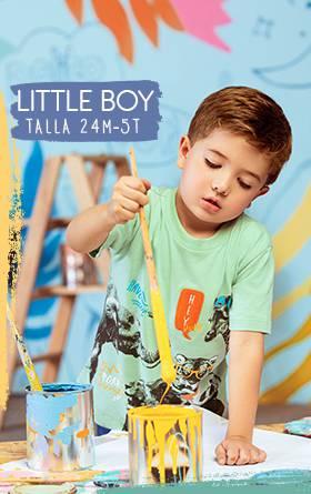 Menu Little boy Magic