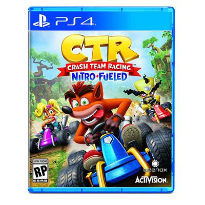 Crash Team Racing Nitro-Fueled Ctr PS4