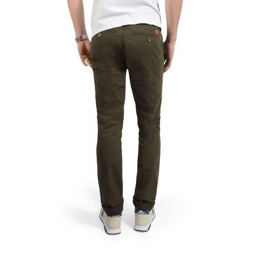 Pantalon Chino Almanor Rose Pistol para Hombre - Verde