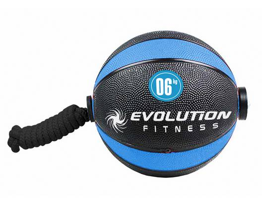 Balón rebote con lazo EVOLUTION 6kg