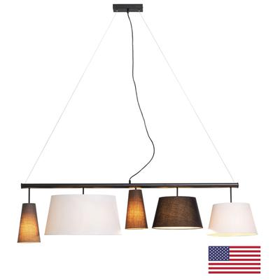 Lámpara Parecchi negro 160