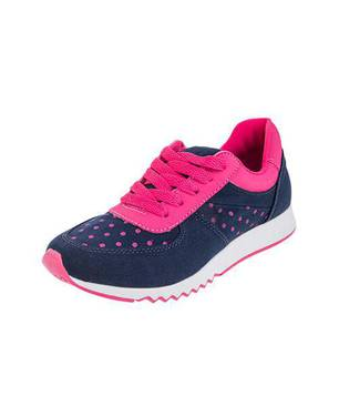 Zapatos Urban Blue Pink Sneakers 0108-M Azul - LUSOLE