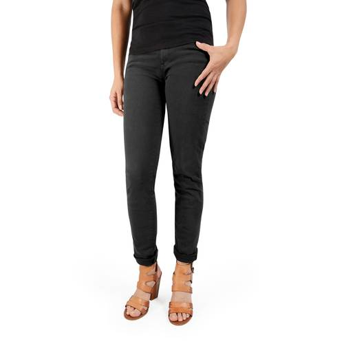 Pantalon Calistoga Cinco Bolsillos Color Siete Para Mujer  - Negro