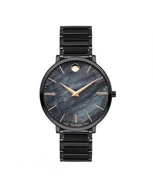 Reloj análogo negro 7211