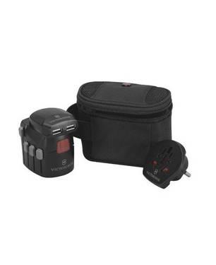 Adaptador de toma corriente negro 6101
