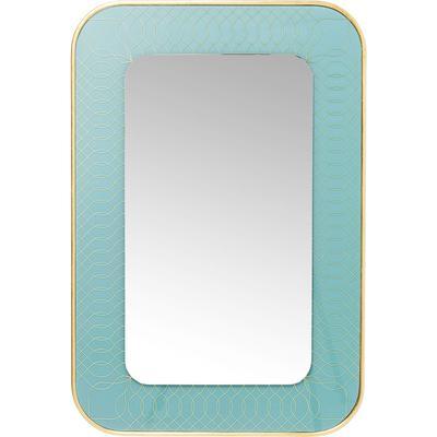 Espejo Revival azul claro 90x60cm