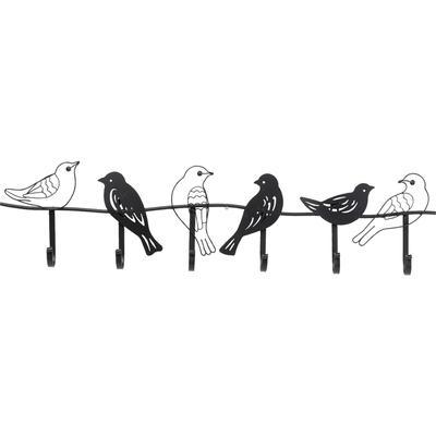 Perchero pared Shadow Birds 85cm