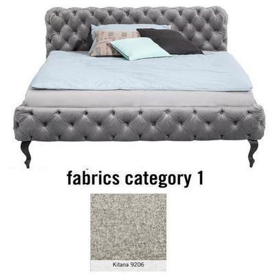 Cama Desire, tela 1 - Kitana 9206, (100x177x228cms), 160x200cm (no incluye colchón)