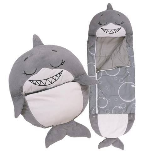 Happy Nappers Pequeño - Tiburon Gris