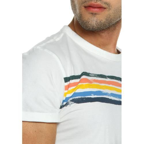 Camiseta Rosé Pistol Para Hombre - Blanco