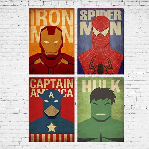 Cuadro Colección Mini Marvel