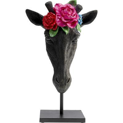 Objeto decorativo Mask Giraffe Flower