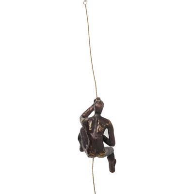 Decoración pared Climber Rope