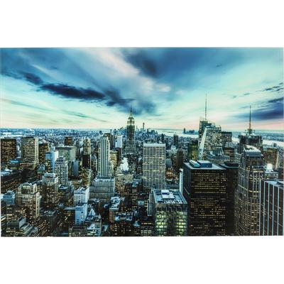 Cuadro cristal New York Sunset  120x160cm