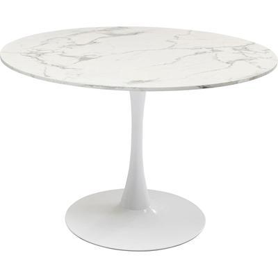 Mesa Schickeria (visual mármol) blanco Ø110cm