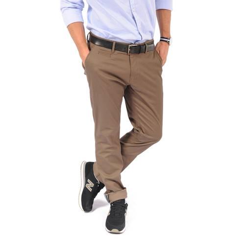 Pantalón Baxter Color Siete Para Hombre - Cafe