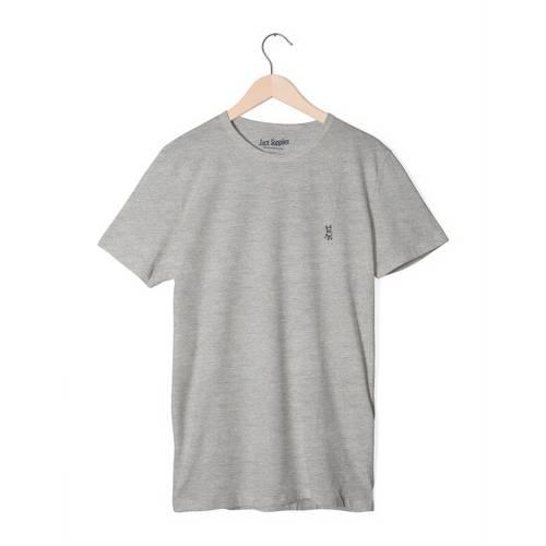Camiseta Jack Supplies Para Hombre - Gris