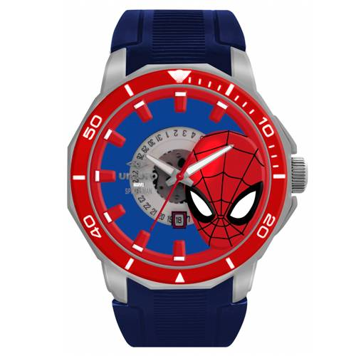 Reloj Análogo Negro-Azul Umb-Sm01-4