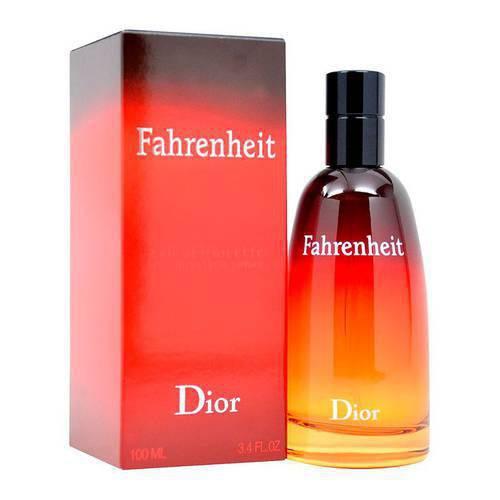 Perfume Fahrenheit 3.4 Edt M 012219 - Dior