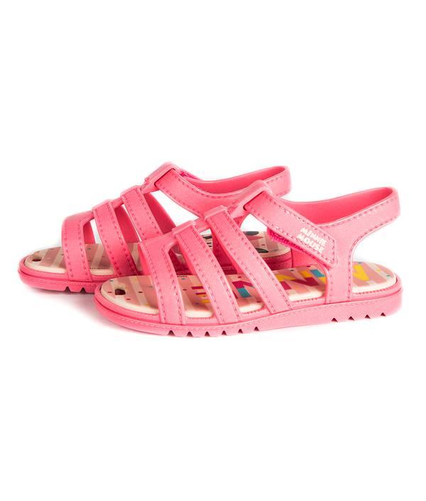 Sandalia caminadora rosada