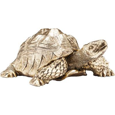 Figura decorativa Turtle oro peq.